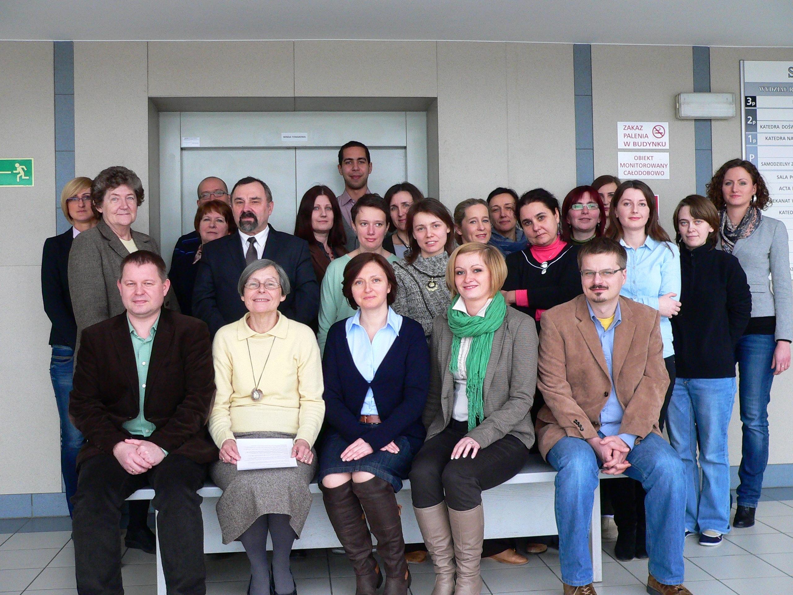 Pracownicy Katedry Biochemii 2013